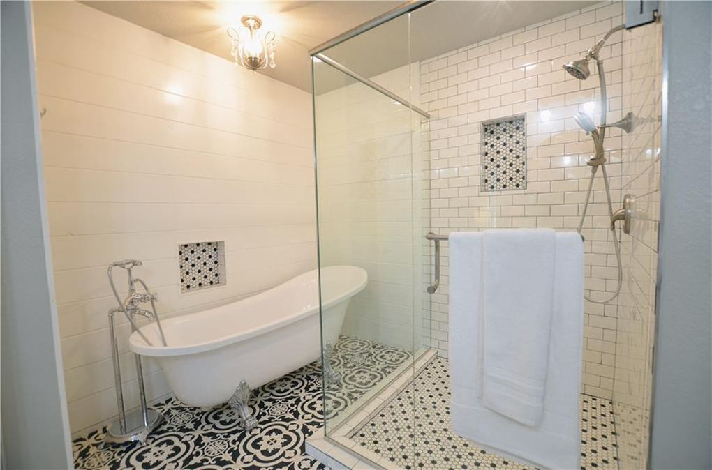 Claw Tub and Custom Shower