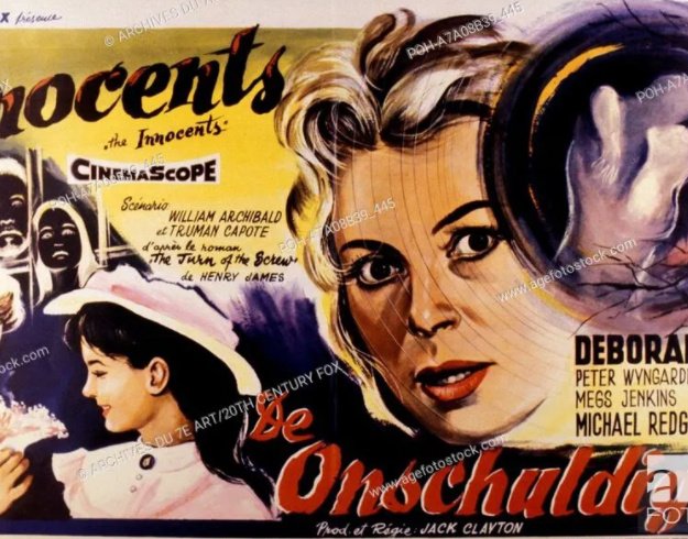 A poster for the 1961 film, 'The Innocents', based on James's story