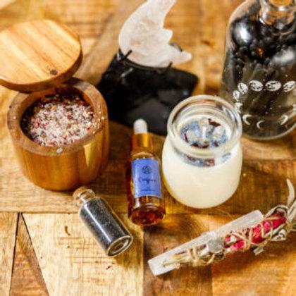 Moon Ritual Box with Conjure Ritual Oil