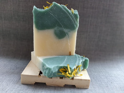 Hemp Oil Cool Musk and Pine Cold Press Soap