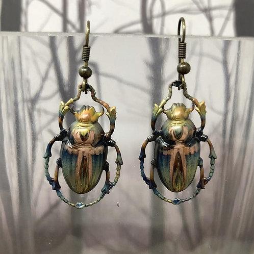Egyptian Scarab Beetles