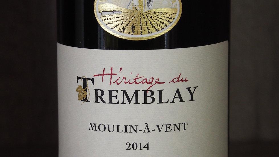 """Domaine Paul Janin, AOP Moulin à vent, cuvée """"Héritage du Tremblay"""", 2014"""