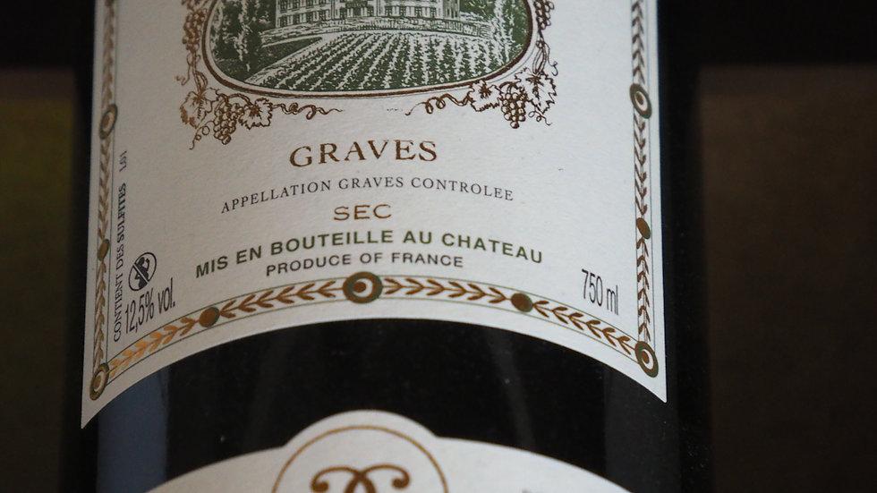 Château D'Arricaud, AOP Graves Blancs, 2019
