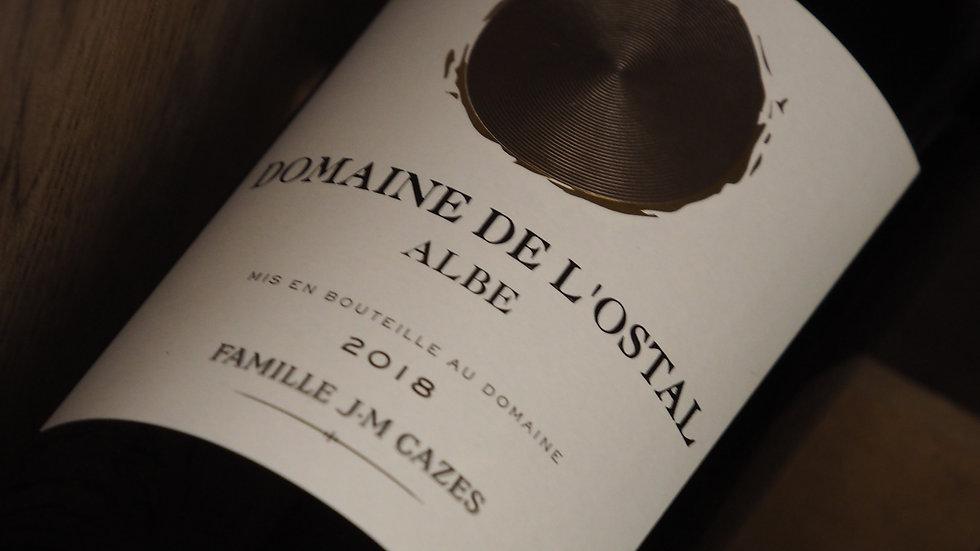 """IGP Pays d'Oc, Domaine de l'ostal, Cuvée """"Albe"""", 2018"""
