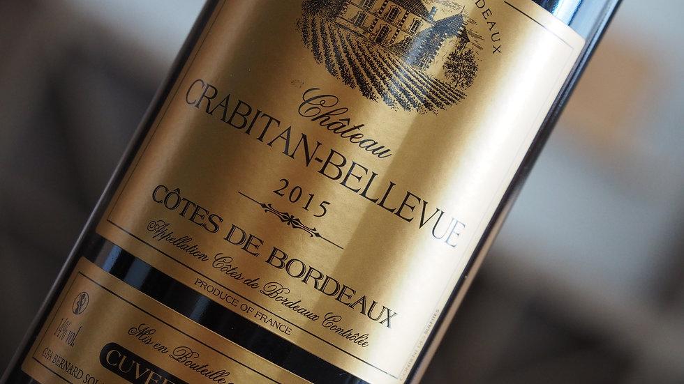 Château Crabitan-Bellevue, AOP Bordeaux Supérieur, 2015