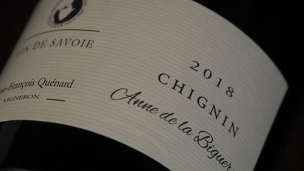 """AOP Chignin, Domaine JP et JF Quénard, Cuvée """"Anne de la Biguerne"""", 2018"""