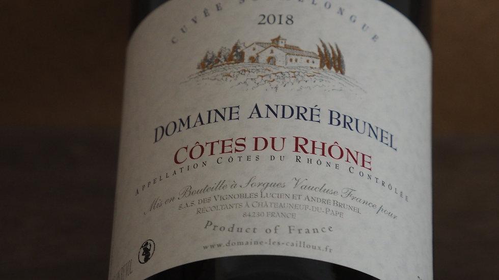 AOP Côtes du Rhône, Domaine André Brunel, cuvée Sommelongue, 2018