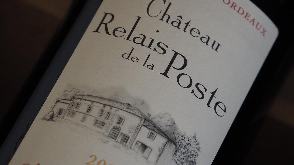 Château relais de la poste, AOP Côtes de Bourg, 2015