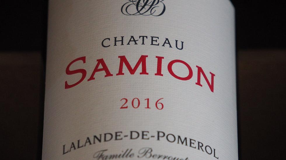 Château Samion, AOP Lalande de Pomerol, 2016