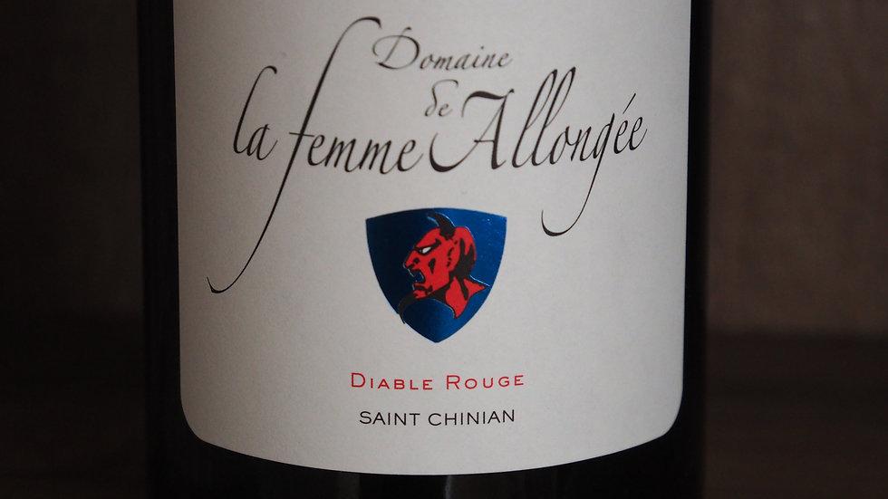 """Domaine de la Femme Allongée, Cuvée """"Diable Rouge"""", AOP Saint-Chinian, 2016"""