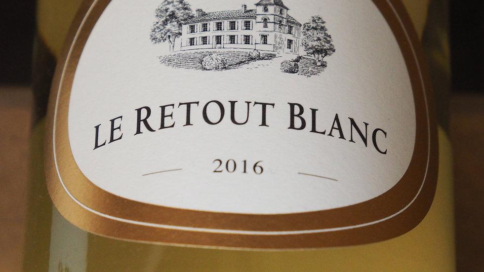 """Château du Retout, Cuvée """"Le Retout Blanc"""", 2016"""