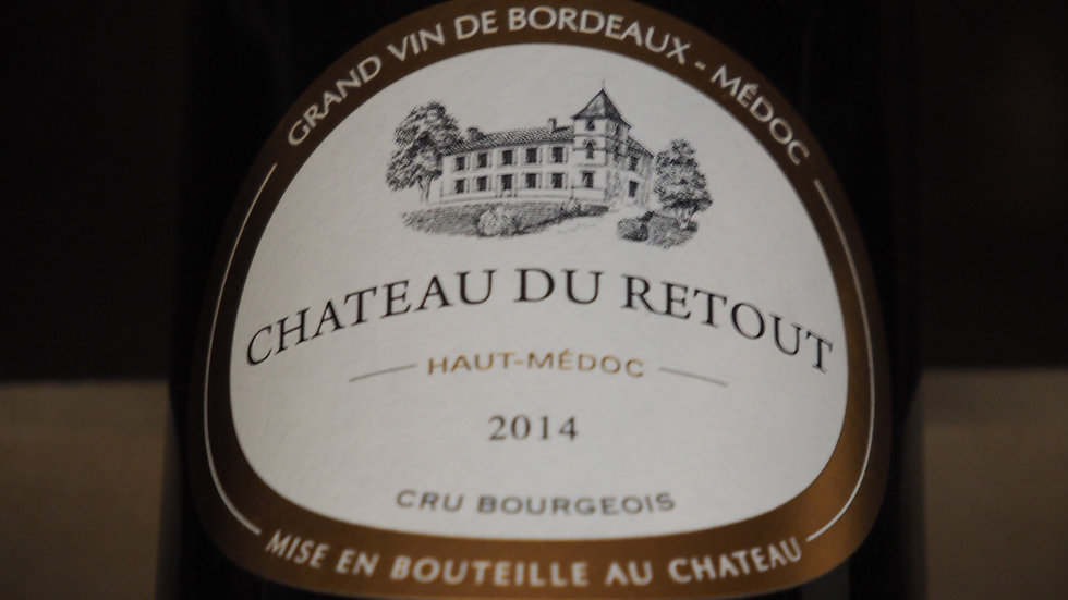 Château du Retout, Cru Bourgeois, AOP Haut-Médoc, 2014