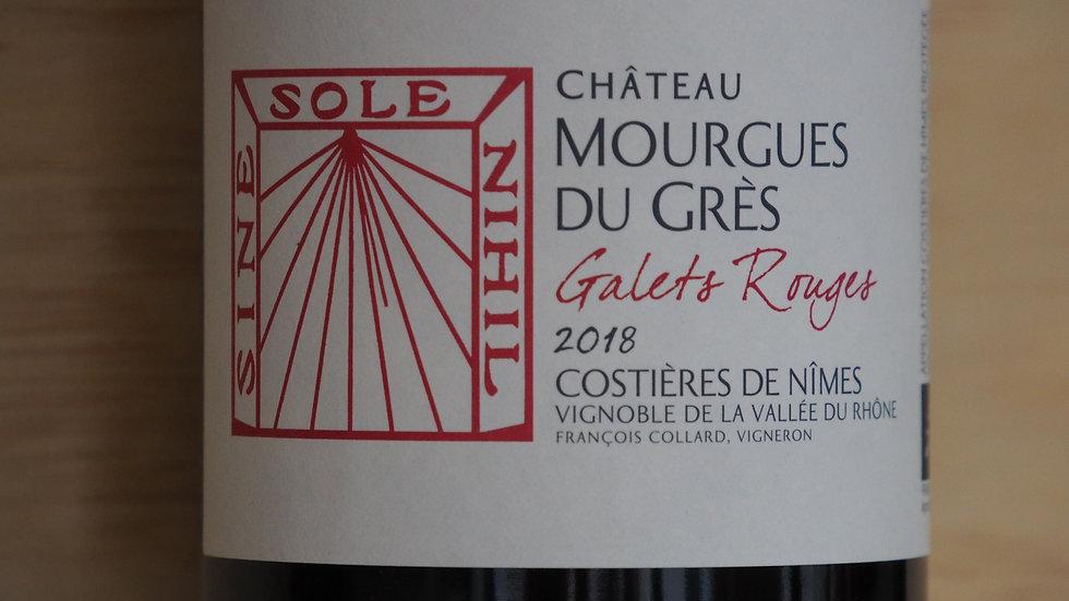 """AOP Costières de Nîmes,Domaine Mourgues du Grès, Cuvée """"galets rouges"""", 2018"""