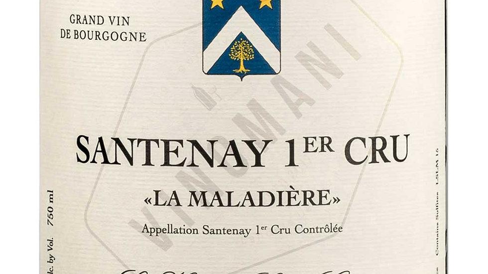 Les Héritiers Saint Genys, AOP Santenay Premier Cru, cuvée « La Maladière » 2015