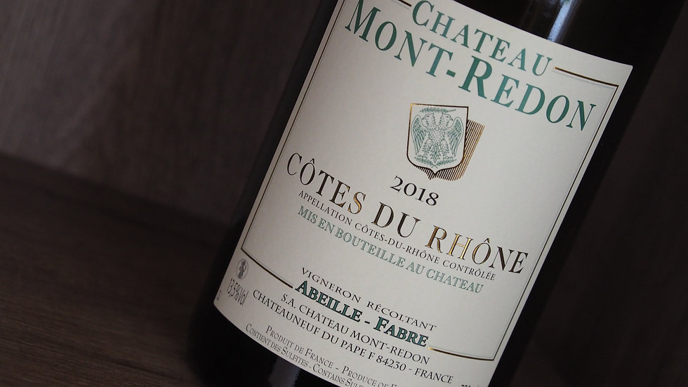 Château Mont-Redon, AOP Côtes du Rhône Blanc, 2018