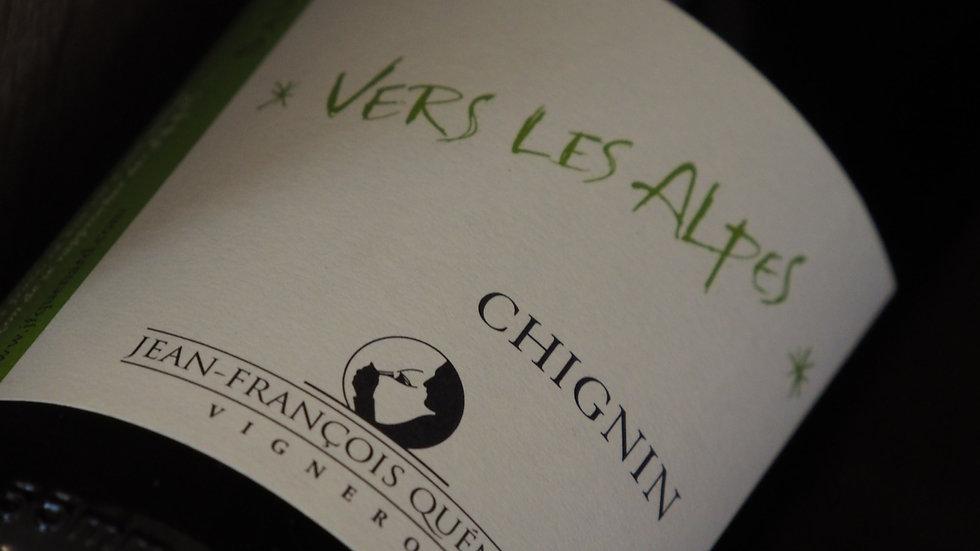 """AOP Chignin, Domaine JP et JF Quénard, Cuvée """"Vers les Alpes"""", 2019"""