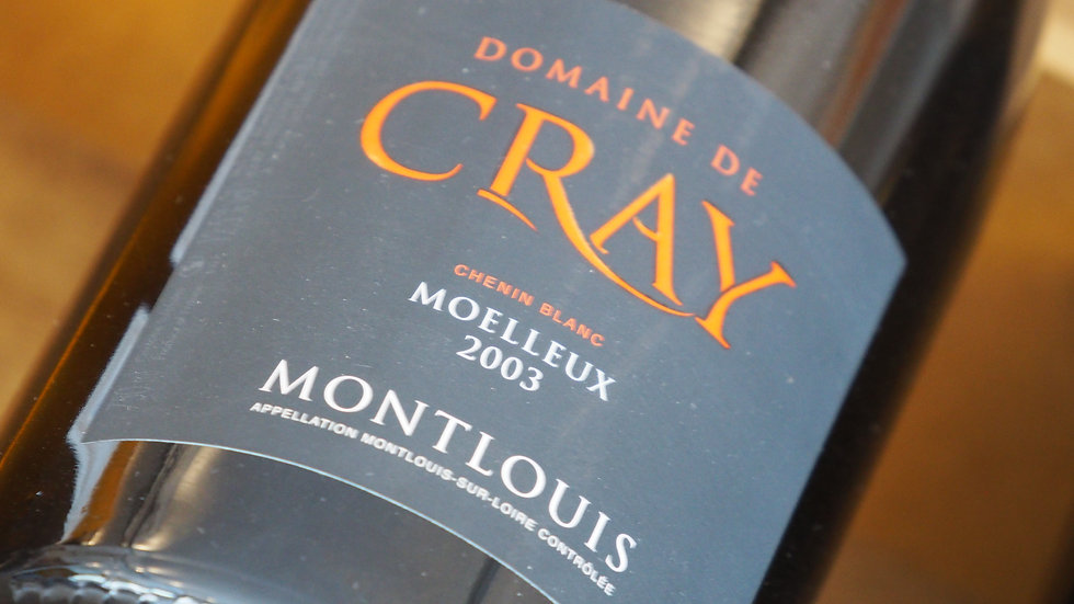 AOP Montlouis, Domaine de Cray, 2003