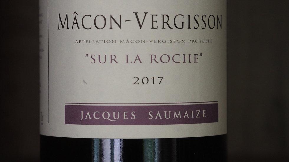 """Domaine Jacques Saumaize, AOP Macon-Vergisson, Cuvée """"Sur la Roche"""", 2017"""