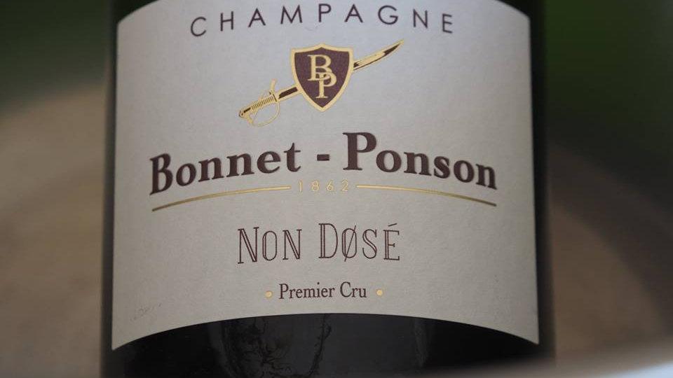 Maison Bonnet-Ponson, AOP Champagne 1er cru, Brut non dosé