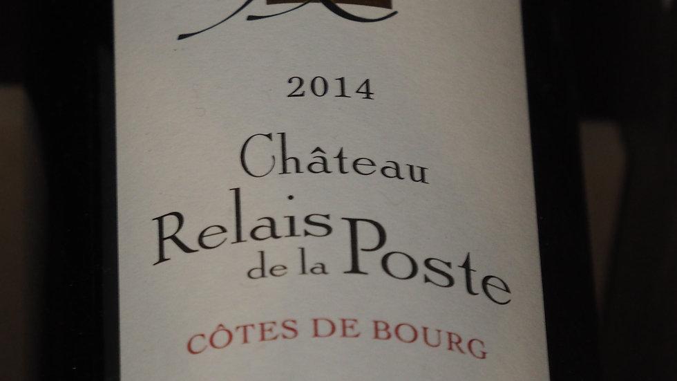 """Château Relais de la Poste, Cuvée """"Malbec"""", AOP Côtes de Bourg, 2014"""