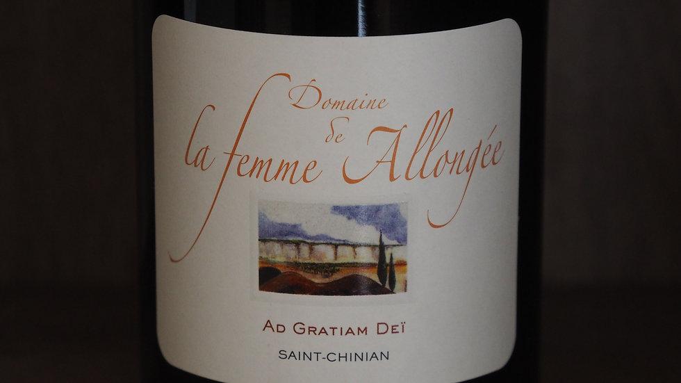 """Domaine de la femme allongée, Cuvée """"Ad Gratiam Dei"""", AOP Saint-Chinian, 2015"""