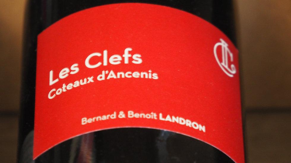 """Bernard et Benoît Landron, Cuvée """"Les clefs"""", AOP Coteaux d'Ancenis, 2015"""