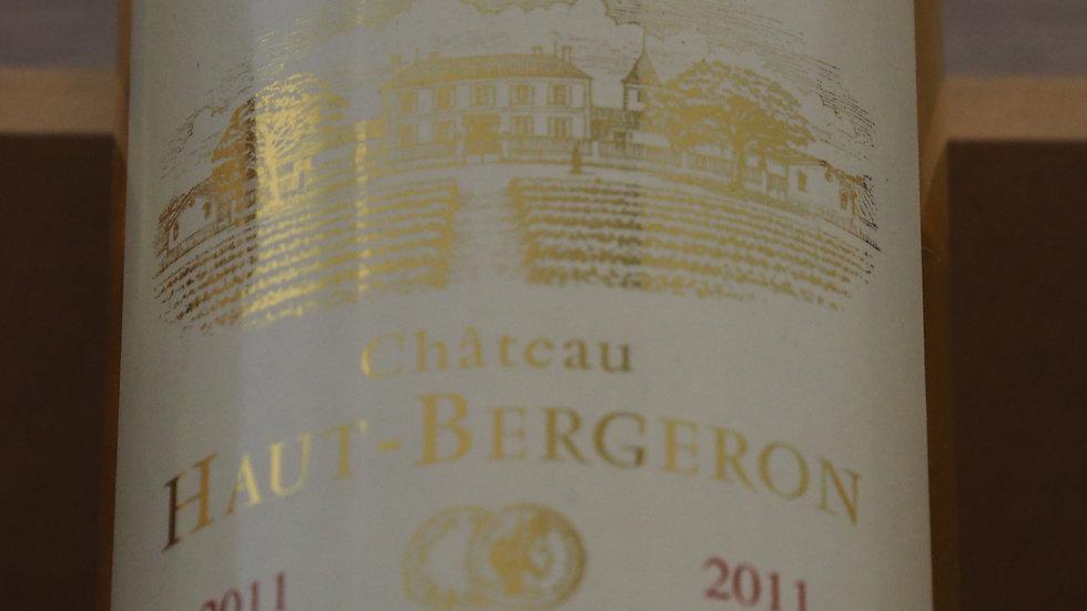 Château Haut-Bergeron, AOP Sauternes, 2011
