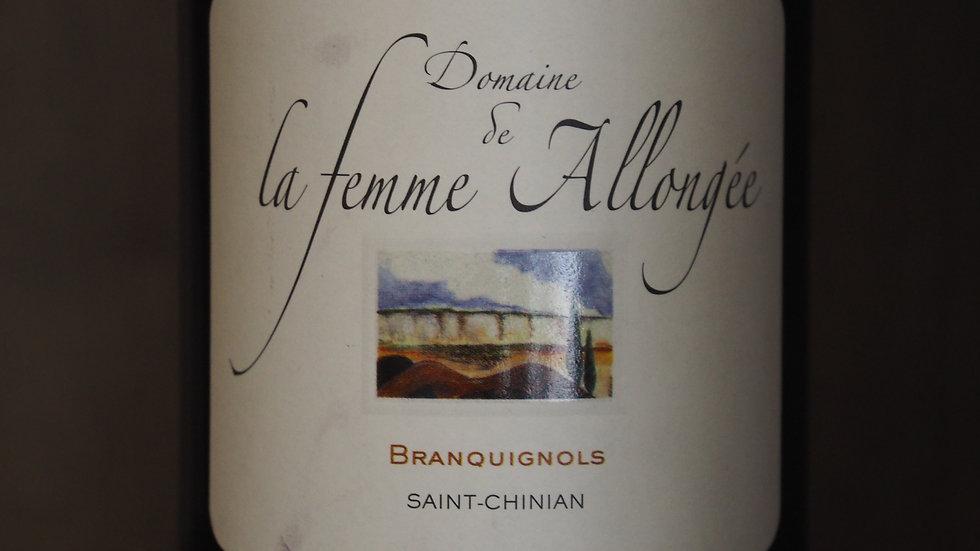 """Domaine de la Femme Allongée, Cuvée """"Branquignols"""", AOP Saint-Chinian, 2018"""