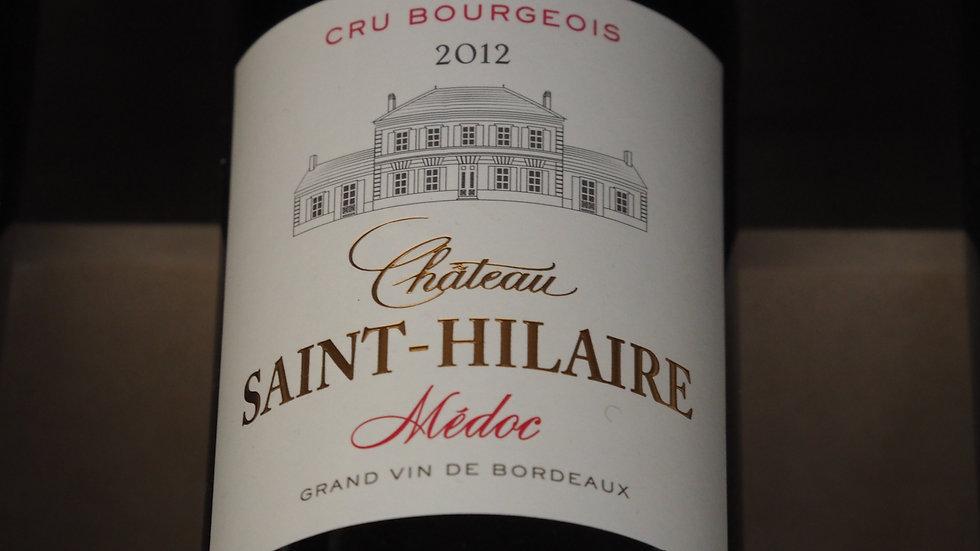 Château Saint Hilaire, Cru Bourgeois, AOP Médoc, 2012