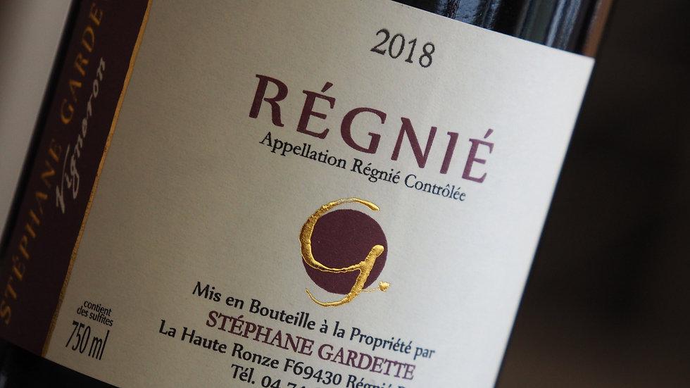 AOP Régnié, Domaine stéphane Gardette, 2019