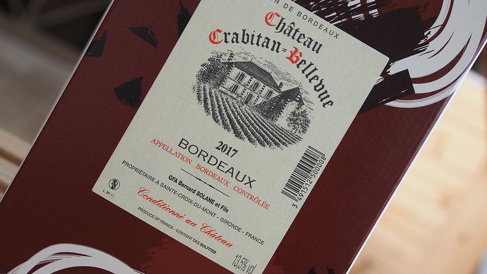 AOP Bordeaux, Château Crabitan-Bellevue, 2017