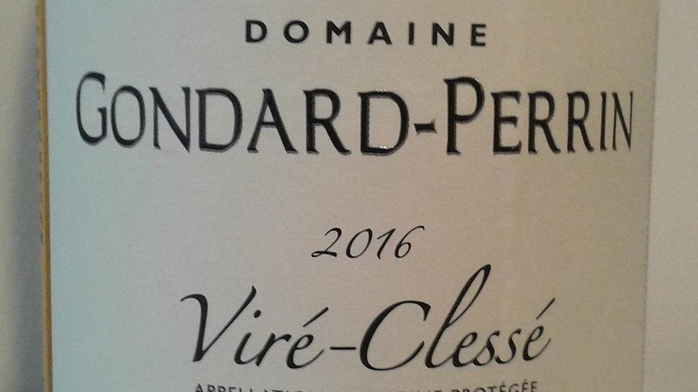 """Domaine Gondard-Perrin, AOP Viré-Clessé, Cuvée """"Aux Quarts"""", 2016"""