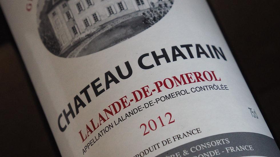 Château Chatain, AOP Lalande de Pomerol, 2015