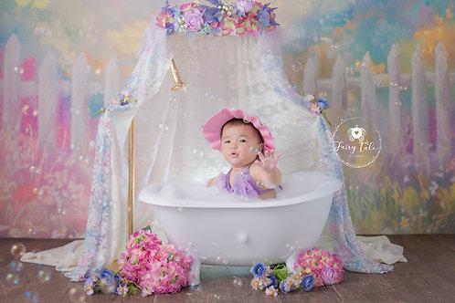 8.Garden Bubble Bath