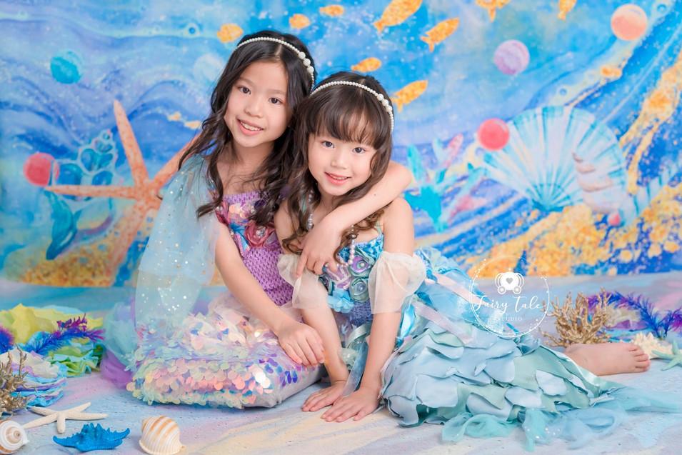 little-fairy-家庭相-造型相-公主相-美人魚3.jpg