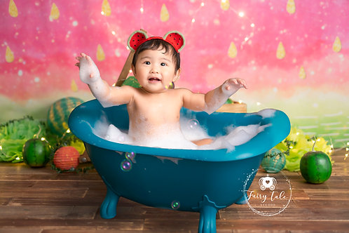 15.Watermelon Bath