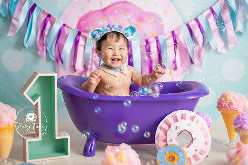 14.Donut Bath