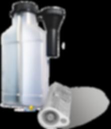 функциональная упаковка для автохимии состоящая из двух секций удобно использовать для жидких присадок отличается изолированными друг от друга с помощью перегородки в средней части флакона или ab шприца для упаковки ремонтных гелей sabtab