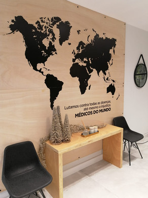 Querido, mudei a casa   Mapa mundo
