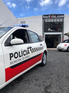 CMO - Polícia Municipal | Decoração de frota