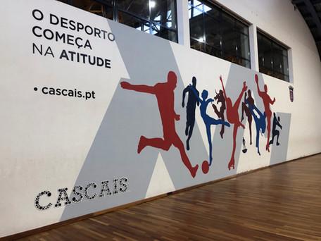 C. Futebol de Sassoeiros | Decoração de parede