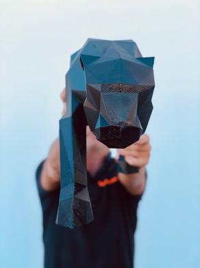Impressão 3D | Pantera com 50cm de altura