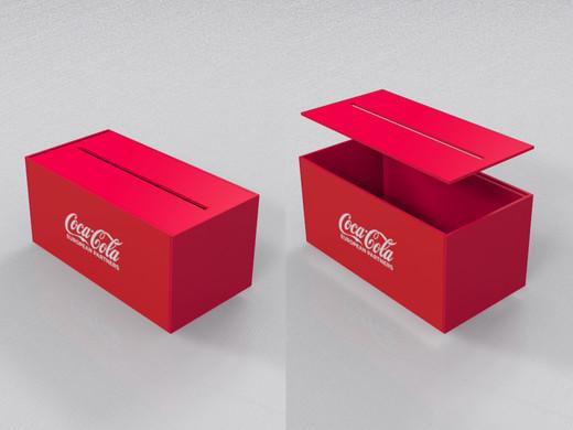 Coca-Cola   Projeto caixas de pvc