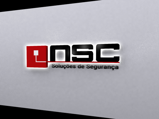 NSC   Projeto logótipo monobloco iluminado