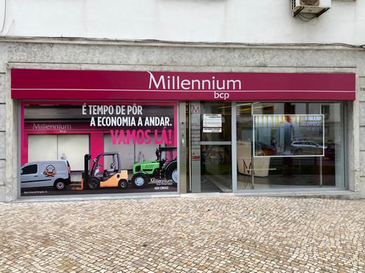 Millennium | Decoração de montras campanha