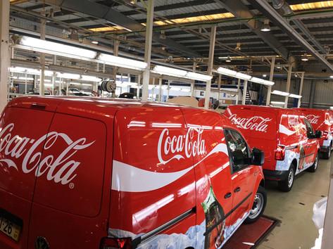 Coca-Cola | Decoração de frota