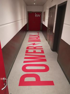 KW   Decoração escritórios - Vinil chão