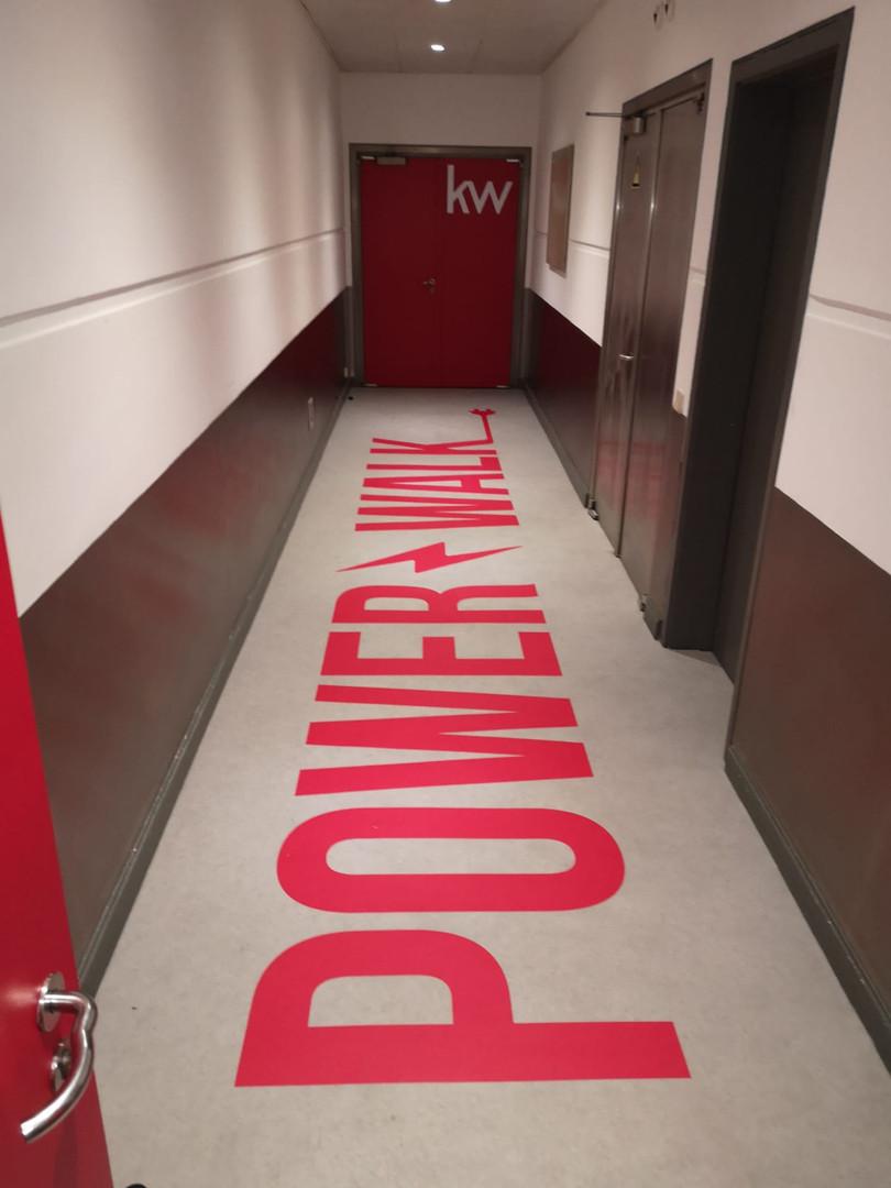 KW | Decoração escritórios - Vinil chão