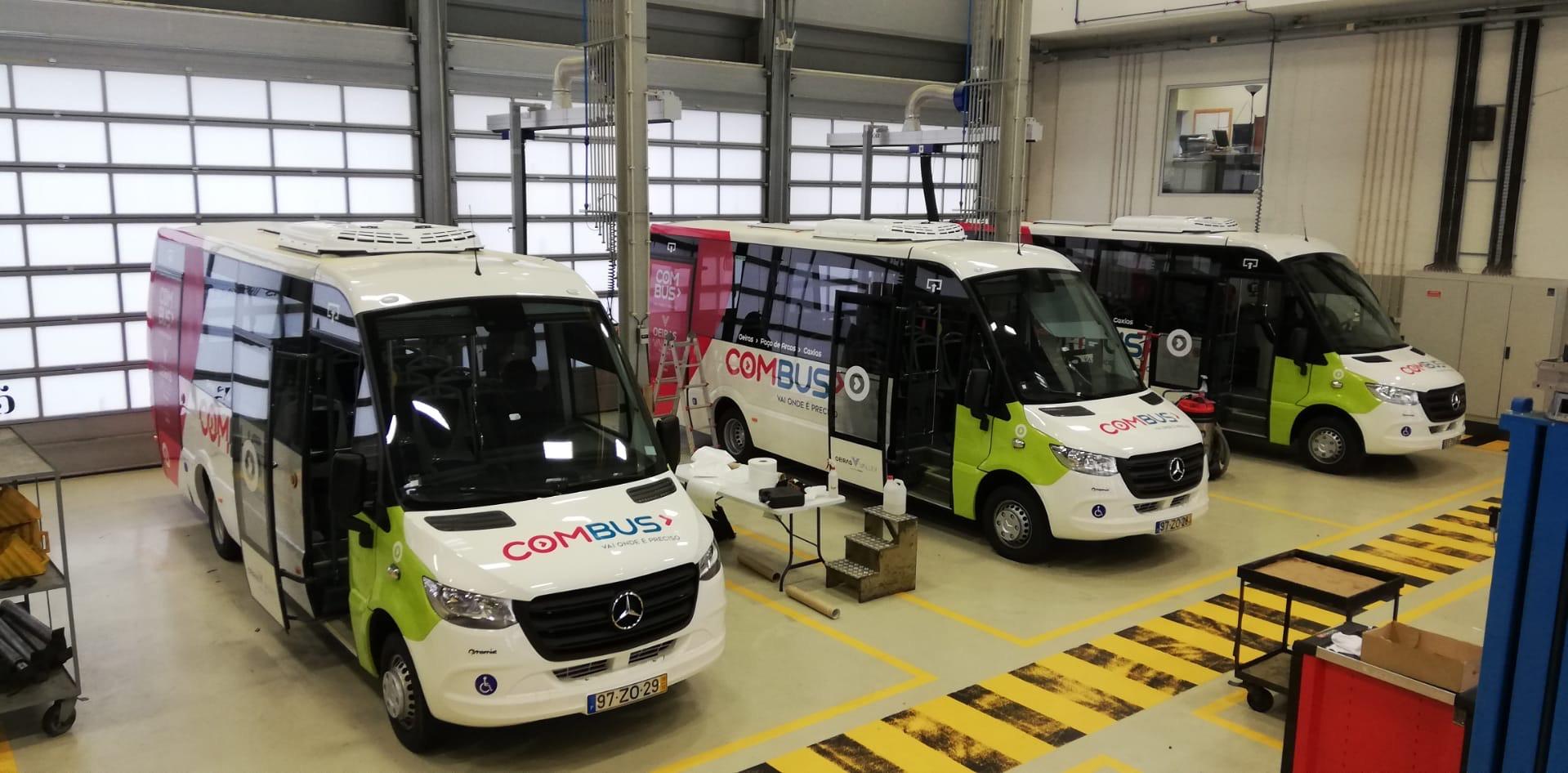 CMO | Decoração de autocarros