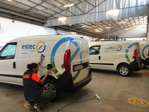 ESTEC - FCA | Decoração de frota